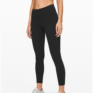 "Lululemon Train Times 25"" Tight Size 8"